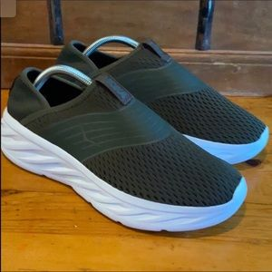 Hoka One One slip on shoes.